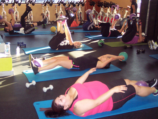 Gridley Fitness Group Classes